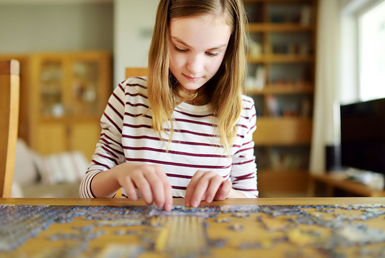 Puzzles for Big Kids ages 8 to 12